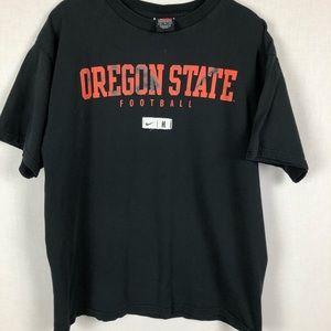 Nike Oregon State Football Distressed Logo Tee M
